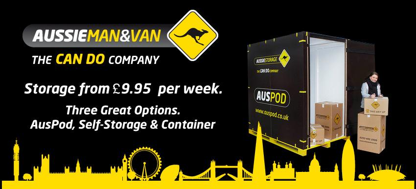 AusPod – Cheap Storage London