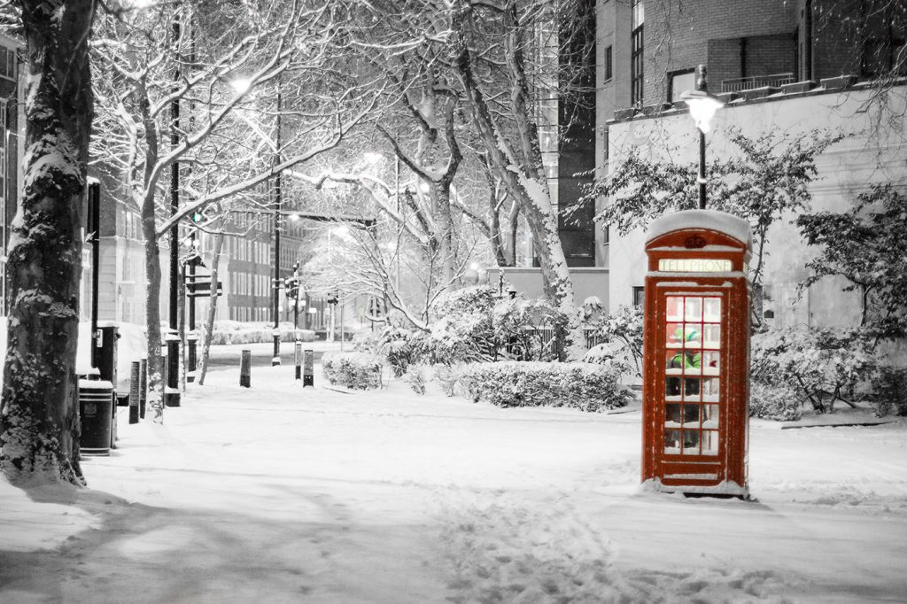 London cold