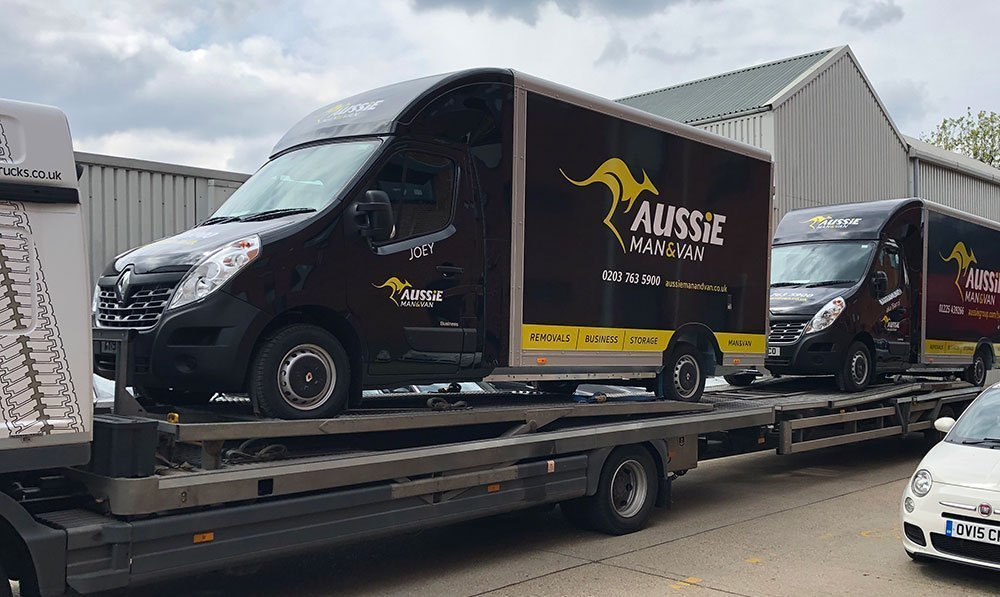 Part of the Solution – Aussie's New Fleet of ULEZ Removal's Vans